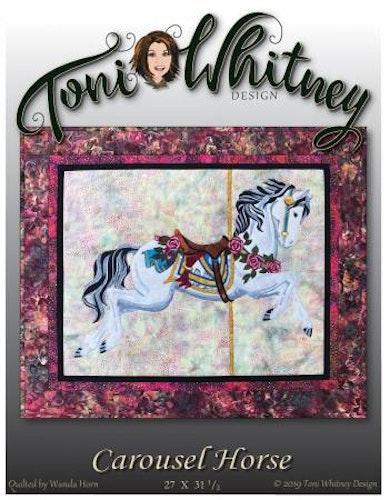 Carousel Horse. Mönster av Toni Whitney