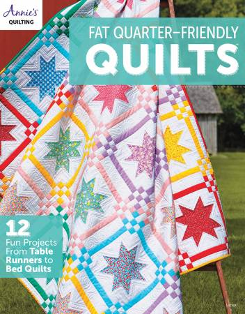 Fat Quarter-Friendly Quilts. Bok av Annie's Quilting