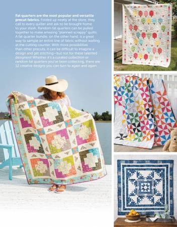 Fat Quarter-Friendly Quilts. Bok av Annie's Quilting