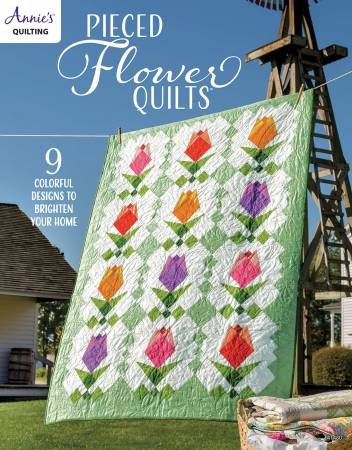 Pieced Flower Quilts. Bok av Annie's Quilting