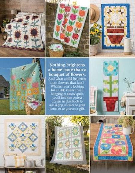Pieced Flower Quilts. Bok av Annie's Quilting