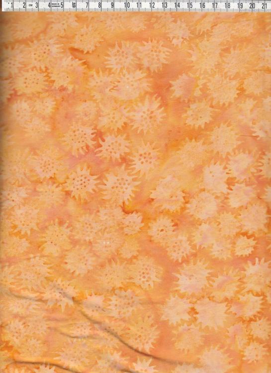 Freaky Flower i krämiga, mustiga gula och guloranga färger.