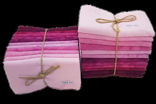 Pink & purple FQ bundle