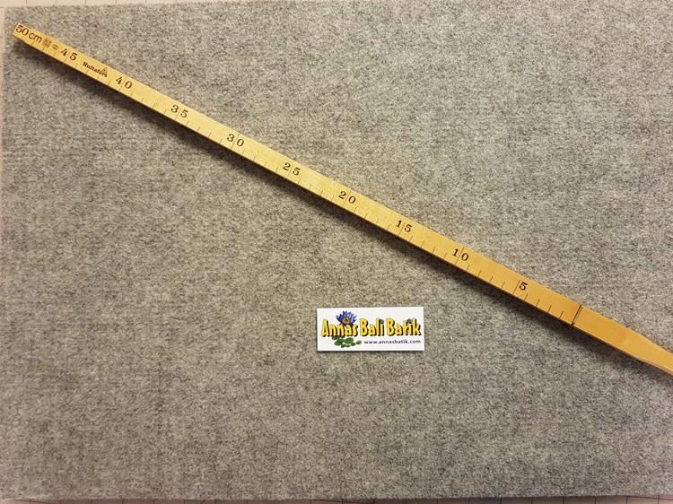 Strykmatta av filtad SVENSK ull, 60x40 cm, 1 cm tjock