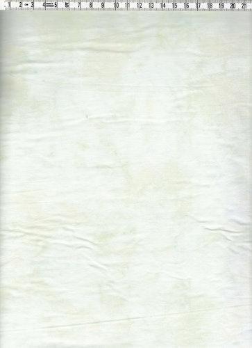 Ljust fräscht melerat bomullstyg i ljusgrön ton på vitt.