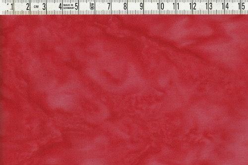 Läckert röd melerad. Ett batiktyg från Bali