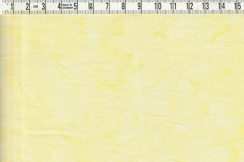 Ljuvligt ljusgulmelerat bomullstyg. Bredd 110 cm
