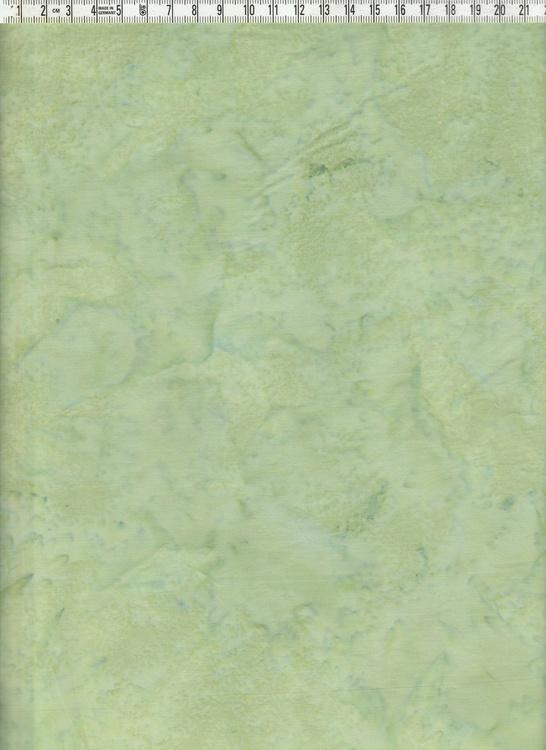 Grönmelerad bomull. Bomullsstyg