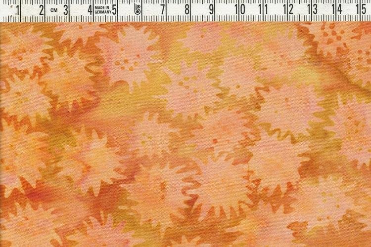 """""""Freaky Flower"""" Sköna gula och beige färger. Bredd 120 cm"""