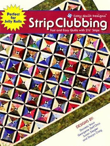 Bok Strip Clubbing, från Cozy Quilt Design