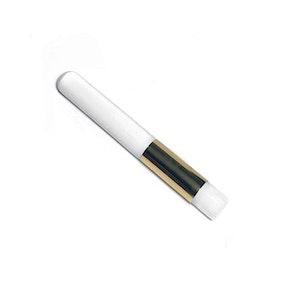 Rengöringsborste Vit/Guld (platt borst)