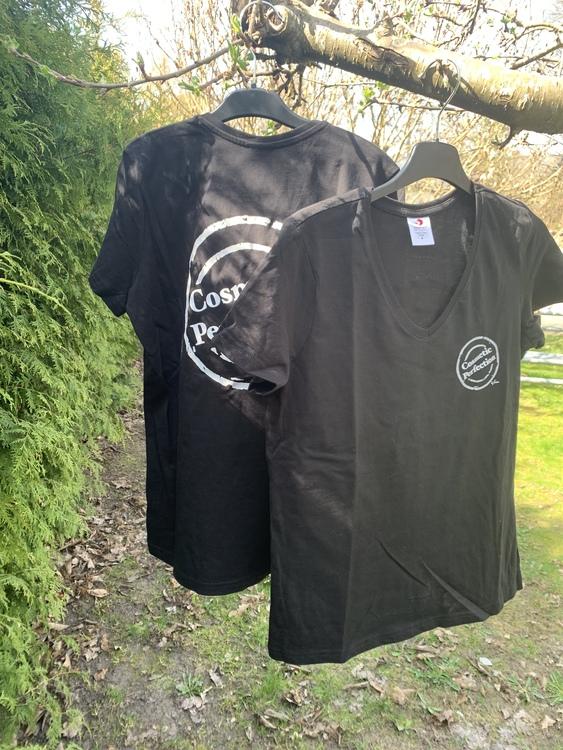 T-shirt med logga