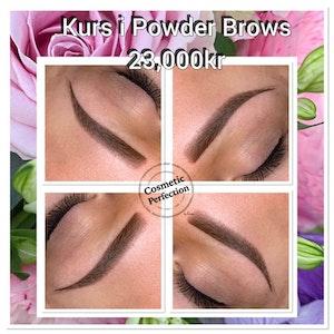 Kurs i Powder brows (maskin)
