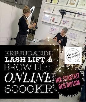 Lash Lift & Brow Lift -ONLINE