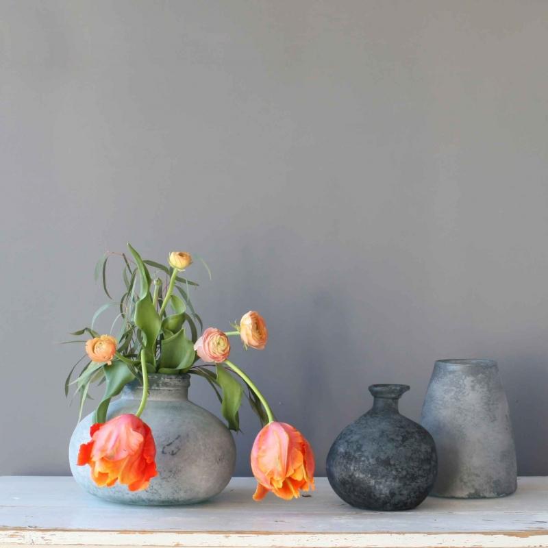 Höstens vaser är återvunna