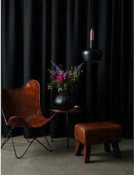 Fåtölj naturgarvat läder, brown