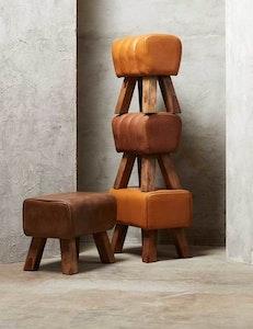 Pall Valencia naturgarvat läder, rose brown