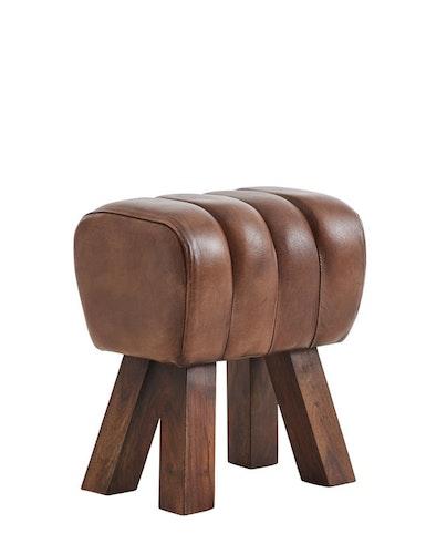 Pall Lima naturgarvat läder, patina