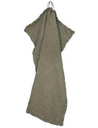 Handduk linne och ekologisk bomull grön