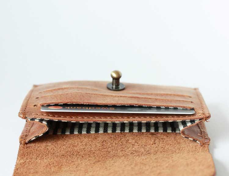 Korthållare ljusbrun, O My Bag
