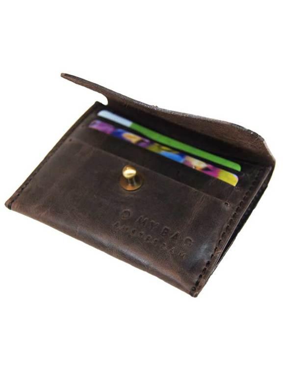 Mörkbrun korthållare, O My Bag