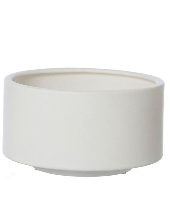 Keramikskål två storlekar, vit