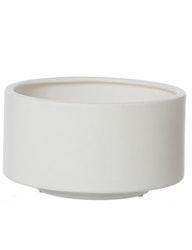 Skål | kruka keramik, vit