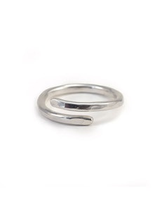 Ring Wrap återvunnet silver