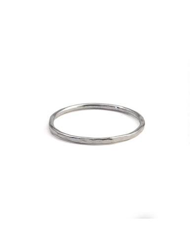 Tunn ring återvunnet silver