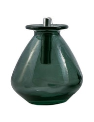 Vas|oljelampa återvunnet glas, petrol
