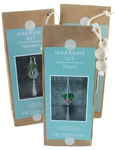 Väggbonad makramé Tussilago, DIY