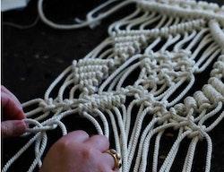 Väggbonad makramé Grankulla, DIY