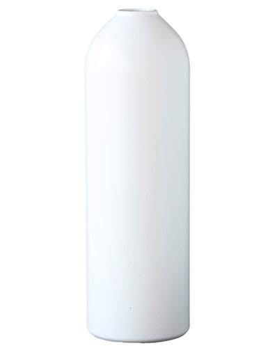 Vas | ljusstake av brandsläckare, vit