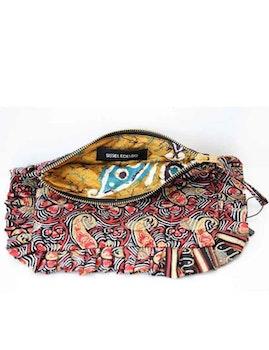 Sminkväska paisley återvunna sari