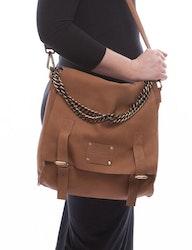 Väska Sleazy Jane, naturgarvat läder