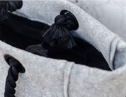 Filtväska stor återvunnen textil