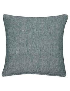 Kuddfodral grön återvunnen textil