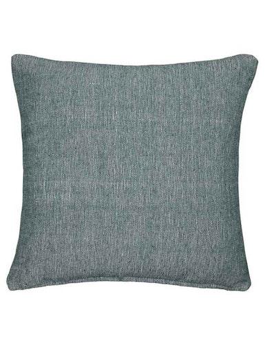 Kuddfodral återvunnen textil, grön