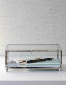 Smyckeskrin i glas fair trade
