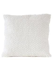 Kuddfodral återvunnen textil vit
