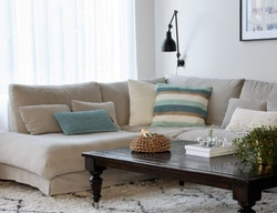 Kuddfodral återvunnen textil