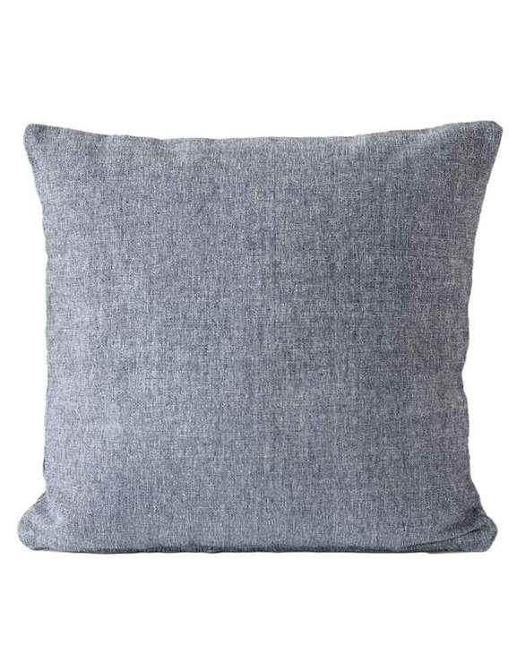 Kuddfodral marin återvunnen textil