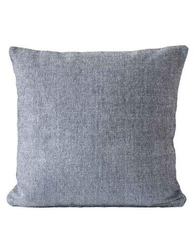 Kuddfodral återvunnen textil, marin