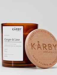 Ekologiskt doftljus energy Ginger & Lime