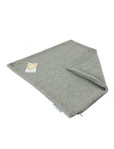 Kuddfodral återvunnen ull grå