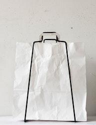 Papperspåse vit