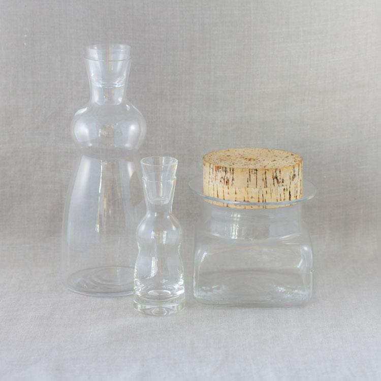 Jungfrukaraff, Bergdala glasbruk