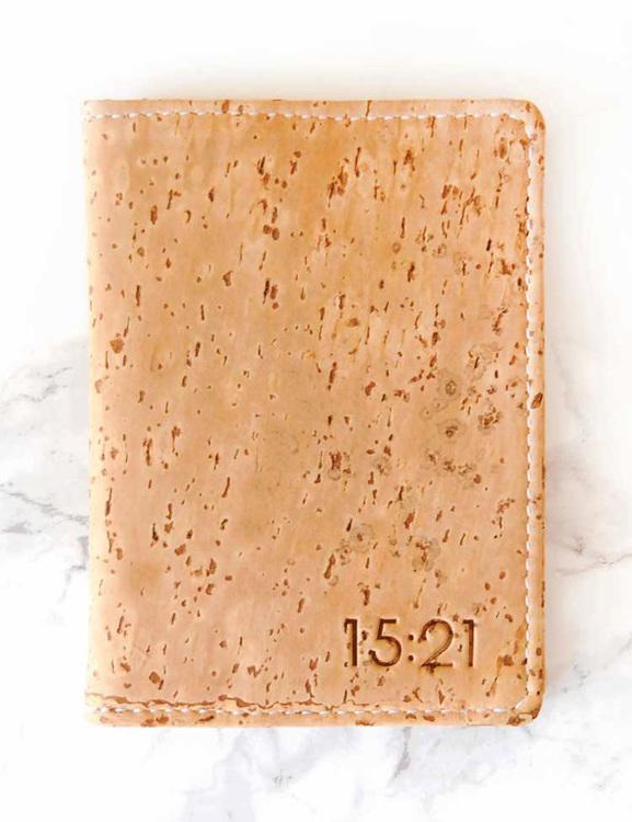 Plånbok i kork från 15:21