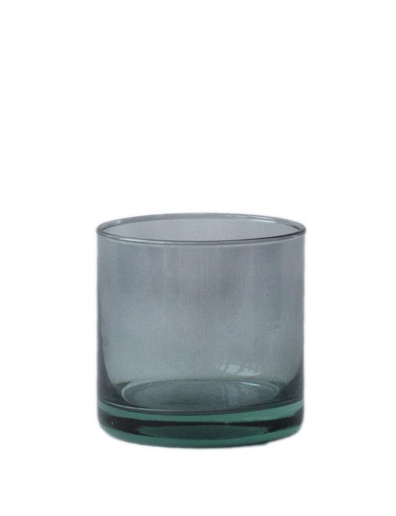 Värmeljushållare   Skål återvunnet glas