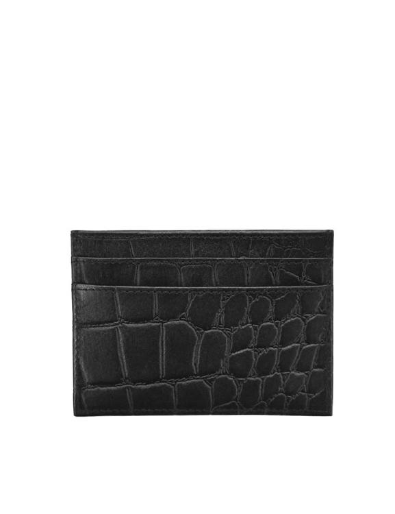 Korthållare O My Bag, svart croco